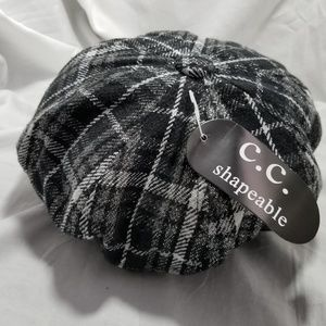 256a679f94e C.C. Shapeable Accessories - C.C. Shapeable Plaid Hat Cap